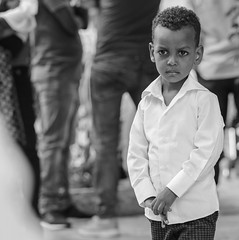 The Crying Boy (ybiberman) Tags: israel jerusalem ethiopianchurch ethiopiancathedral boy tears portrait candid streetphotography documentary gentle sensitiv fragile