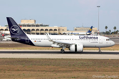Lufthansa Airbus A320-271N 'D-AINQ' LMML - 06.09.2019 (Chris_Camille) Tags: spottinglog registration planespotting spotting maltairport airplane aircraft plane sky fly takeoff airport lmml mla aviationgeek avgeek aviation canon5d 5dmk4 70200mm28 canonef canon livery myphoto myphotography