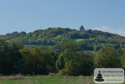 Bismarckturm Ingelheim, von Osten aus (Selztal)
