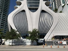 One Thousand Museum Construction (Phillip Pessar) Tags: zaha hadid building architecture construction downtown miami