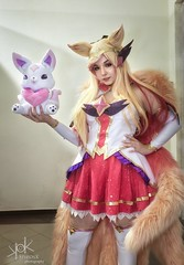 Aniventure Comic-Con 2019: Day 1 portraits (SpirosK photography) Tags: sofia bulgaria σόφια βουλγαρία expo cosplay costumeplay aniventure comiccon aniventurecomiccon aniventurecomiccon2019 portrait leagueoflegends ahri starguardianahri game videogame videogamecharacter