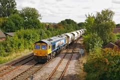 The 'Tilcon' (JohnGreyTurner) Tags: br rail uk railway train transport diesel ferriby yorkshire 66 class66 gbrf aggregates engine locomotive