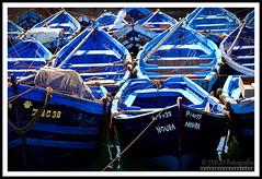 Blue Boats (Essaouira) (jose_miguel) Tags: jose miguel españa spain espagne panasoniclumixfz50 panasonic lumix rigotag marruecos maroc morocco essaouira esauira blue azul bleu barca barco boat bateau puerto port color couleur colour contraste contrast mar sea mer playa plage beach elitegalleryaoi bestcapturesaoi aoi