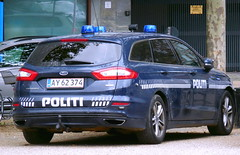 Copenhagen Police Ford Mondeo AY62374 (sms88aec) Tags: copenhagen police ford mondeo ay62374