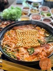 IMG_2197 (trendygourmet) Tags: ssamdak korean bbq buffet