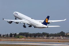 Lufthansa Airbus A340-642 'D-AIHK' LMML - 06.09.2019 (Chris_Camille) Tags: airbus a340 a340600 lhdlh lh dlh flyingbus spottinglog registration planespotting spotting maltairport airplane aircraft plane sky fly takeoff airport lmml mla aviationgeek avgeek aviation canon5d 5dmk4 70200mm28 canonef canon livery myphoto myphotography