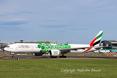 B777 A6-EPF EMIRATES special colours (shanairpic) Tags: jetairliner passengerjet b777 boeing777 triple7 dublin emirates specialcolours a6epf