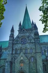 Nidarosdomen (...Ola_S...) Tags: norge trøndelag nidarosdomen visitnorway sonyphotographer sony sonyalpha sonyilce5100 kirke church