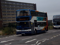 Stagecoach TransBus Trident (TransBus ALX400) 18149 PX04 DOJ (Alex S. Transport Photography) Tags: bus outdoor road vehicle stagecoach stagecoachmidlandred stagecoachmidlands alx400 alexanderalx400 dennistrident trident transbustrident transbusalx400 route1 18149 px04doj