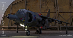 Hawker Siddeley, RAF  Harrier Jet GR3 at a nightshoot at Cornwall Aviation Heritage Centre (JetPhotos.co.uk) Tags: aircraft bobsharples cahc cornwallaviationheritagecentre newquay nightshoot thresholdaero airport planes wwwjetphotoscouk daynight twilight airfield photography photoshoot september 2019 hawkersiddeley raf harrier jet gr3 jumpjet vtol verticaltakeoffandlanding groundattack multipurposestrike helston cornwall uk