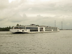 On The Rhine. Viking Skirnir. (aitch tee) Tags: rhinegetaway cruise riverrhine vikingrivercruise touristviews august2019 windmills vikingskirnar