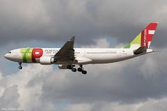 CS-TOF (Baz Aviation Photo's) Tags: cstof airbus a330223 tap air portugal heathrow runway 27l tp1354 from lisbon lis tp egll lhr