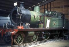 norfolk - preserved lt&sr 4-4-2 thundersley at bressingham c1970 (johnmightycat1) Tags: railway norfolk lms museum steam