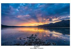 Sunset (Ignacio Ferre) Tags: sunset puestadesol anochecer embalsedesantillana santillanareservoir nikon manzanareselreal madrid españa spain landscape paisaje naturaleza nature