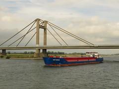 Rhine views. (aitch tee) Tags: riverrhine vikingrivercruise rhinegetaway vikingalruna scenic touristviews august2019 ships transport