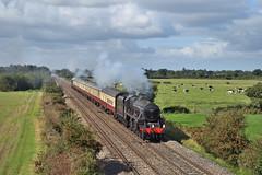 s45231-Hargrave-17.9.19 (shaunnie0) Tags: lms stanier class5 black5 thesherwoodforester lsl locomotiveserviceslimited steamtrain steamengine hargrave 5z22