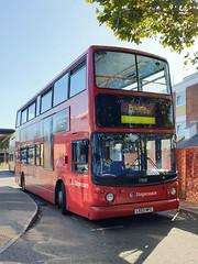 Stagecoach London (on loan to Stagecoach South) 17858 (LX03 NFC) Havant 17/9/19 (jmupton2000) Tags: lx03nfc transbus alexander alx400 dennis trident stagecoach london south uk bus southdown coastline