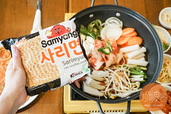 DSC02436 (trendygourmet) Tags: ssamdak korean bbq buffet