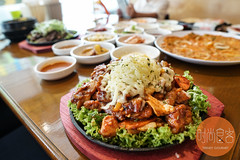 DSC02449 (trendygourmet) Tags: ssamdak korean bbq buffet