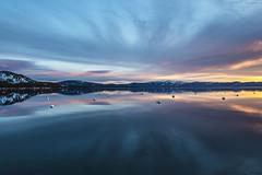 West Shore Sunrise (CraDorPhoto) Tags: canon5dsr landscape waterscape nature outdoors outside usa lake water reflection sky clouds colour california laketahoe