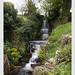 Holy Trinity Coverham, North Yorkshire (churchyard waterfall)