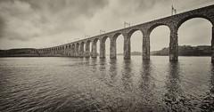 The Royal Border Bridge at Berwick-upon-Tweed (pierre_et_nelly) Tags: royalborderbridge berwickupontweed berwick northumberland tweed viaduct bridge railwayviaduct