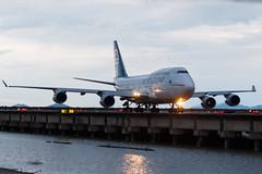 AIR NEW ZEALAND B747-400 ZK-SUH 001R (A.S. Kevin N.V.M.M. Chung) Tags: aviation aircraft aeroplane airport airlines airnewzealand boeing b747400 b747 jumbo jet queen plane spotting mfm macauinternationalairport taxiway taxiing macau