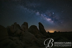 Arch Rock at Night #3 (MrDiscoDucks) Tags: brenden fleming brendenfleming nikon d810 nikond810 2018 hiking hike adventure explore mrdiscoducks outdoors outdoor outside travel traveling landscape landscapes photo photography photographer nature paths camping camp trail trails summer may 2019 joshua tree national park california joshuatree nationalpark astrophotography nightphotography night astro stars star milky way milkyway wilderness mojavadesert mojava desert wild arch rock archrock long exposure longexposure