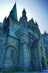 Nidarosdomen (...Ola_S...) Tags: norge trøndelag nidarosdomen visitnorway kirke church sonyphotographer sony sonyalpha sonyilce5100
