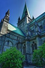 Nidarosdomen (...Ola_S...) Tags: norge trøndelag visitnorway nidarosdomen sonyphotographer sony sonyalpha sonyilce5100 kirke church