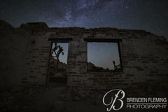 Abandon Homestead at Night #2 (MrDiscoDucks) Tags: brenden fleming brendenfleming nikon d810 nikond810 2018 hiking hike adventure explore mrdiscoducks outdoors outdoor outside travel traveling landscape landscapes photo photography photographer nature paths camping camp trail trails summer may 2019 joshua tree national park california joshuatree nationalpark astrophotography nightphotography night astro stars star milky way milkyway wilderness mojavadesert mojava desert abandon homestead abandoned lost oldwest old west