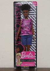 Barbie Fashionistas #128 (Tamara Tarasiewicz) Tags: barbie 128 fashionistas barbiefashionistas128 2018 mattel doll plastic black