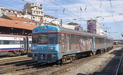0467 Lisbon Santa Apolonia 10/09/2019 (Waddo's World of Railways) Tags: 450 0467 portugal lisbon santaapolonia lisbonsantaapolonia rail railway train dmu dieselmultipleunit class450dmu cp cp450