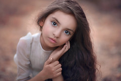 Jordan ({jessica drossin}) Tags: jessicadrossin child portrait kid face girl hair eyes long hands close up wwwjessicadrossincom