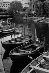 Akerselva | Asahi Pentax SV (Bernt Sønvisen) Tags: woodenboat rowingboat river oslo akerselva m42 takumar kodakhc110 kodaktrix asahipentaxsv
