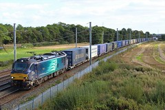 DRS 88004 4S44 Daventry to Mossend (Powerhaul70Pey) Tags: directrailservices drs 88004 pandora 4s44 daventry mossend winwick cheshire freight trains locomotive railway rail railroad
