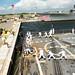 Sailors heave lines aboard USS Farragut (DDG 99) to depart for a scheduled deployment, Sept. 14, 2019.
