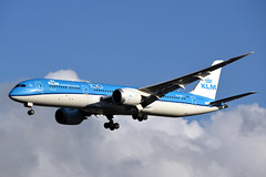 PH-BHD Boeing 787-9 KLM @ Schiphol 13-Sep-2019 by Johan Hetebrij (Balloony Dutchman) Tags: phbhd boeing 7879 klm 100 year 787 b787 royal dutch airlines ams amsterdam schiphol airport eham 2019 aircraft