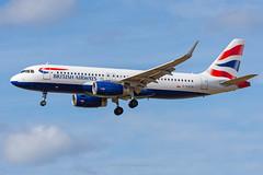 British Airways A320 G-EUYO at Newcastle (Mark_Aviation) Tags: british airways a320 geuyo sharklets ba baw shuttle airbus newcastle egnt ncl international airport