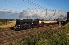 Flying Five (wwatfam) Tags: 45231 stanier black five mixed traffic steam locomotive lms british railways test run trains railroad transport west coast main line wcml betley road england britain pendolino virgin