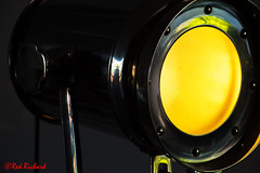 Spotlight (1866) (red.richard) Tags: spotlight yellow light chrome shadow electricity nikon d800