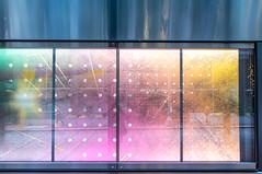 Cityscape Reflections (Orbmiser) Tags: nikon28105mmf35f45afd d500 nikon oregon portland building metal poster windos sidewalk