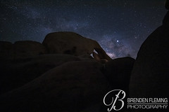 Arch Rock at Night #1 (MrDiscoDucks) Tags: brenden fleming brendenfleming nikon d810 nikond810 2018 hiking hike adventure explore mrdiscoducks outdoors outdoor outside travel traveling landscape landscapes photo photography photographer nature paths camping camp trail trails summer may 2019 joshua tree national park california joshuatree nationalpark astrophotography nightphotography night astro stars star milky way milkyway wilderness mojavadesert mojava desert wild arch rock archrock long exposure longexposure