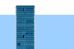 Heaven (Maerten Prins) Tags: spain spanje bilbao facade building flat skyscraper blue window windows abstract sky shadow