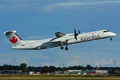 C-GGOI (Air Canada Express - JAZZ) (Steelhead 2010) Tags: bombardier dhc8 dhc8q400 yul creg cggoi aircanada aircanadaexpress jazz