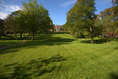 Last of the summer mow lines at Winckley Square, Preston (Tony Worrall) Tags: park green natural winckleysquare city uk greatbritain england tree english nature outside outdoors photo stream nw tour open place northwest britain outdoor sale country north stock visit location lancashire area gb buy preston british capture sell update caught item attraction lancs welovethenorth grass lines shoot shot captured picture sunlit mowed instragram ilobsterit photosofpreston