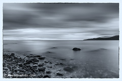 Smoothness (b&w) (james c. (vancouver bc)) Tags: cloudscape evening longexposure smooth twilight dusk pacific reflection sunset acadiabeach vancouver bc canada britishcolumbia park rock sky sea ocean cloud water amazing background beautiful landscape nature scene scenery scenic wallpaper island beach black white blackandwhite