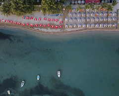 #216 Tropical (Timster1973 - thanks for the 18 million views!) Tags: corfu greek greece beach land water waterscape coast summer sunny sandy beachscape landscape boats umbrellas aerial aerialphotography fly mavic drone uav quadcopter dji mavicprodrone djimavicpro up uphigh droneflying tim knifton timster1973 timknifton explore exploration perspective lookdown lookingdown color colour
