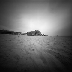 Sleeping beast (Rosenthal Photography) Tags: dänemark ff120 20190802 epsonv800 pinhole mittelformat lochkamera 6x6 realitysosubtle6x6 ilfordlc2912922°c55min ilfordrapidfixer urlaub ilfordpanfplus analog asa50 sleepingbeast bunker landscape seascape sea northsea beach coast strand dunes denmark summer houvig sun sunshine evening realitysosubtle rss 205mm f137 ilford pan panf panfplus lc29 129 14 rapid fixer epson v800