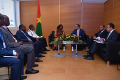 Bilateral Meeting Burkina Faso (01117965)